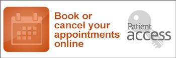 Patient Access - Click to book or cancel appointments